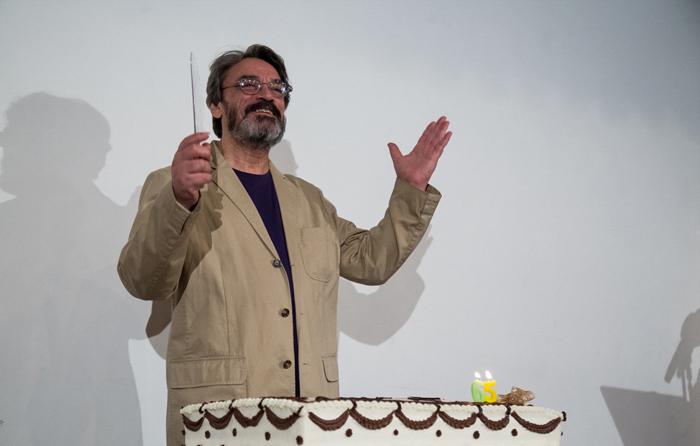 (تصاویر) جشن تولد حسین علیزاده