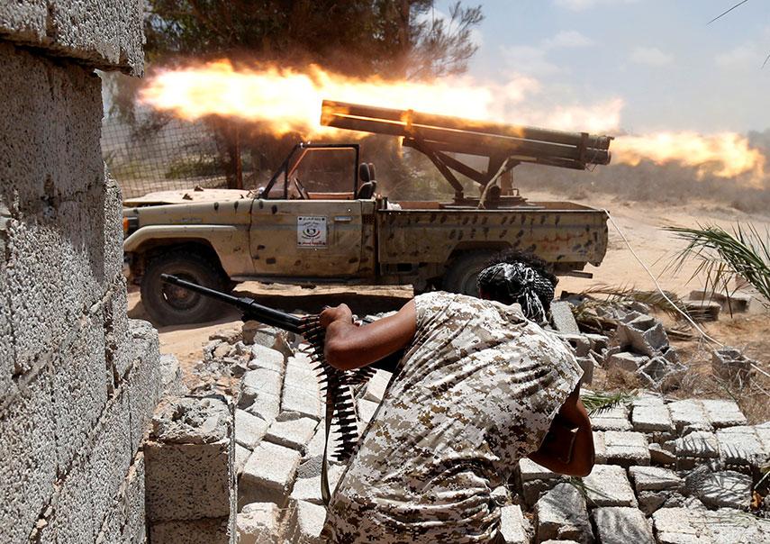 فرار زنی که در لیبی اسیر داعش بود