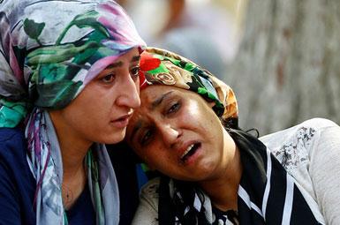 (تصاویر) تشییع قربانیان عروسی خونین ترکیه
