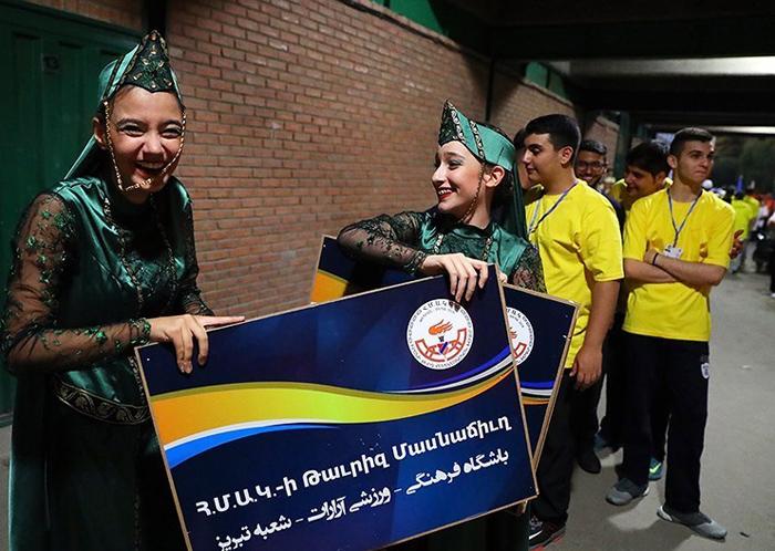 ورزشگاه آرارات تهران سوابق علی یونسی زن ارمنی دختر ارمنی المپیک ارامنه ایران