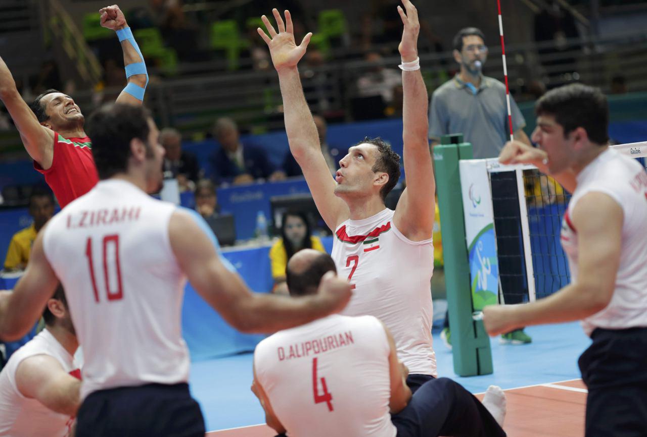 والیبال نشسته مردان قهرمان پاراالمپیک شد