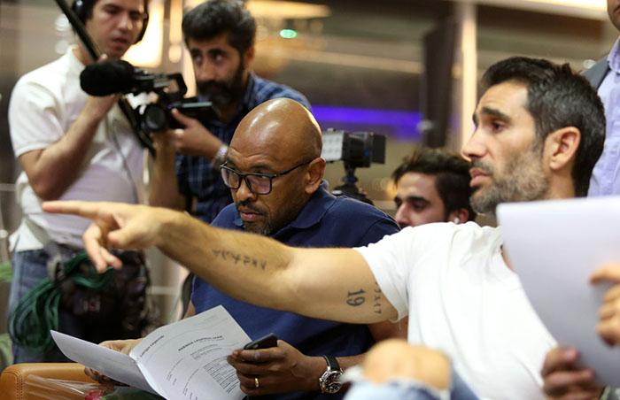 (تصاویر) ورود تیم ستارگان لالیگا به تهران