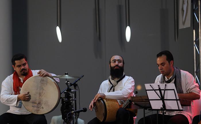 اجرای موسیقی در قم توسط سالار عقیلی