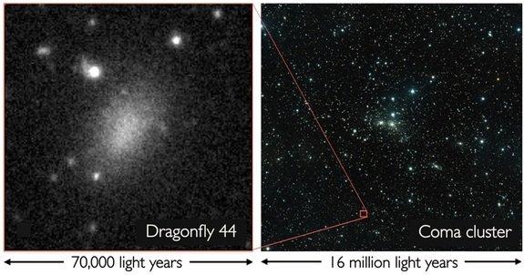 کشف یک کهکشان جدید که دیده نمیشود