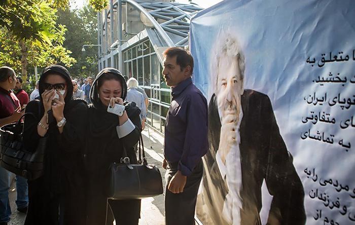 (تصاویر) مراسم تشییع داوود رشیدی