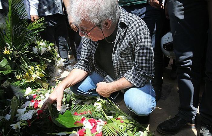 (تصاویر) داوود رشیدی به خاک سپرده شد