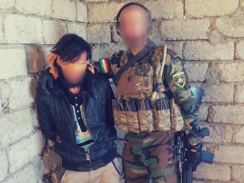 گفتگو با یک پیشمرگه در خط مقدم مبارزه با داعش