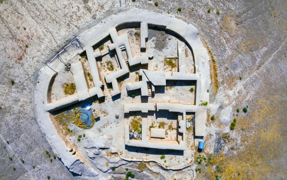 (تصاویر) رونمایی از تپه 7هزارساله در نظرآباد