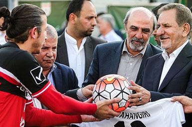 (تصاویر) جهانگیری در تمرین تیم ملی فوتبال