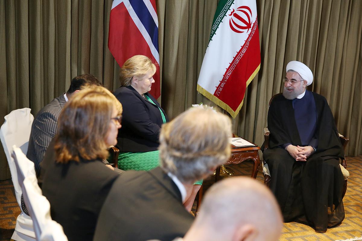 (تصاویر) دیدارهای رییس جمهور در دومین روز از سفر به نیویورک