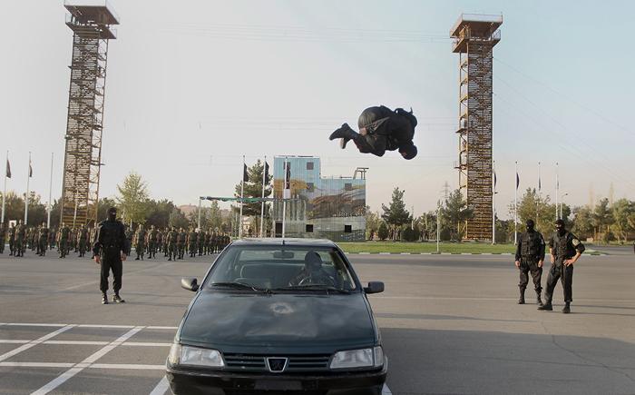 (تصاویر) مانور آمادگی نیروهای یگان ویژه
