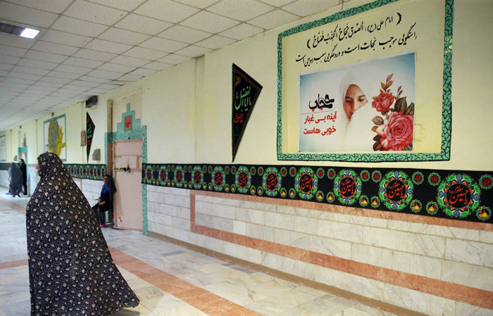 (تصاویر) زندان زنان شهرری در ایام محرم