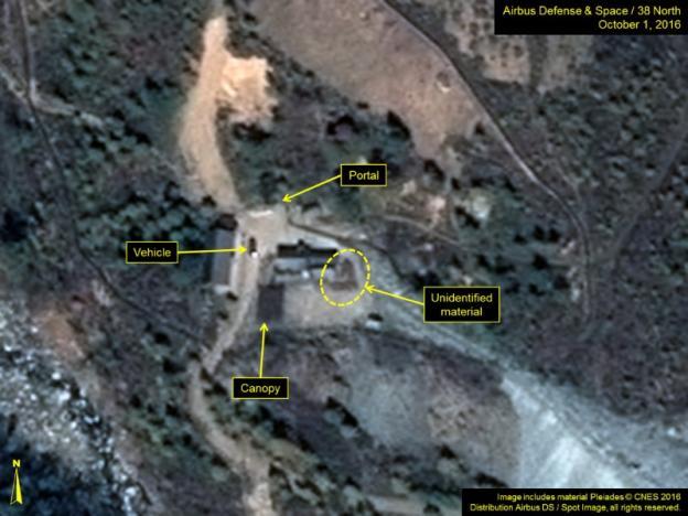 تصاویر ماهوارهای فعالیتهای موشکی جدیدی در کره شمالی را نشان میدهند