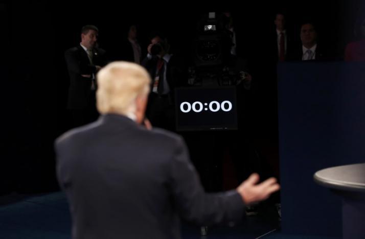 (تصاویر) دومین مناظره کلینتون و ترامپ در فضایی پرتنش