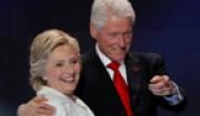 هیلاری کلینتون و زنانی که با شوهرش بودند