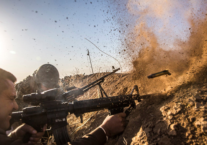 نخستین پیروزیها در عملیات آزادسازی موصل