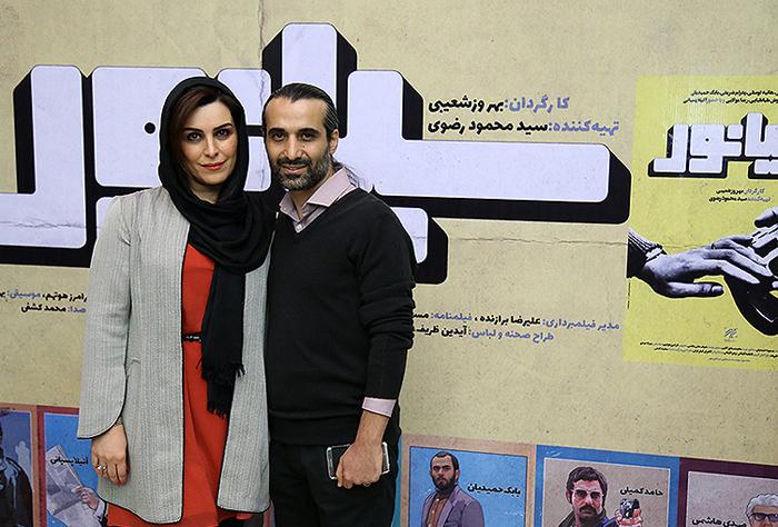 (تصاویر) هنرمندان در اکران افتتاحیه