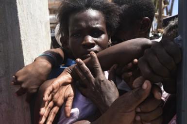 (تصاویر) هائیتی در آستانه فاجعه انسانی