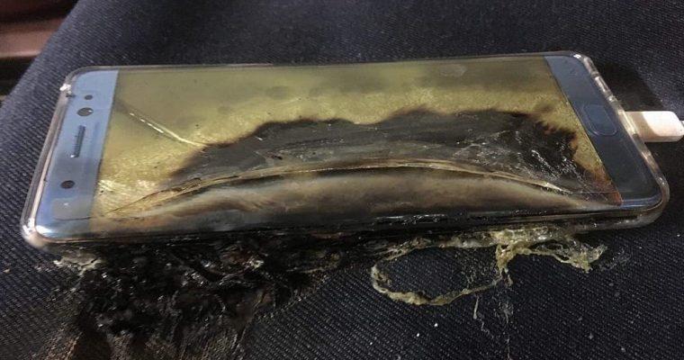 انفجار گوشی سامسونگ این بار در هواپیما