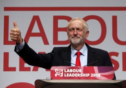 جرمی کوربین رهبر حزب کارگر بریتانیا ماند