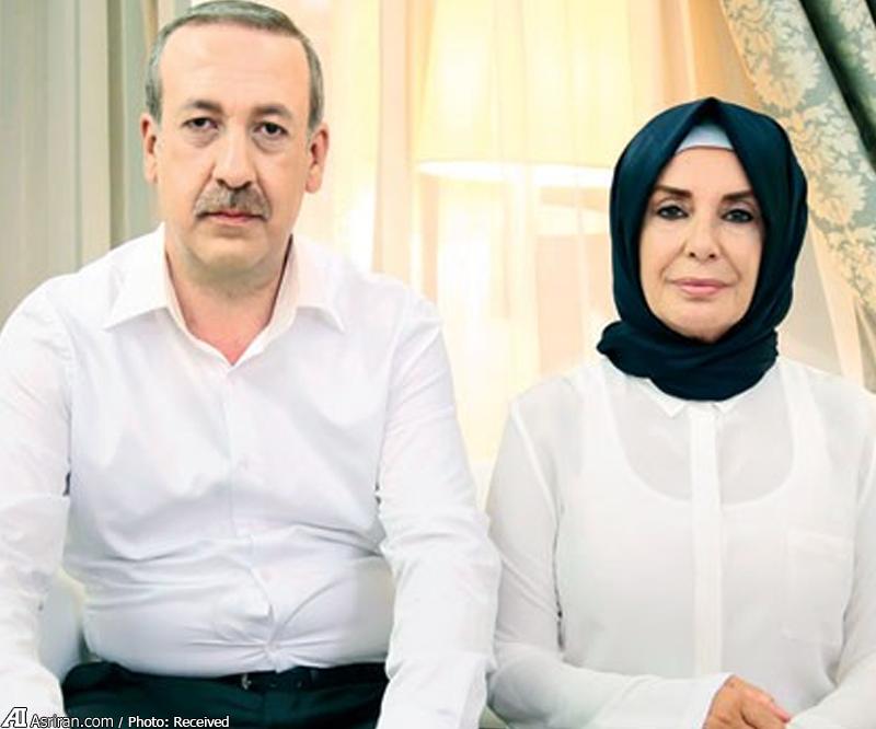 گریم نقش های اردوغان و همسرش در سینمای ترکیه+ (تصاویر)