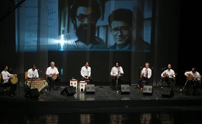 (تصاویر) رونمایی از آلبوم محمدرضا شجریان