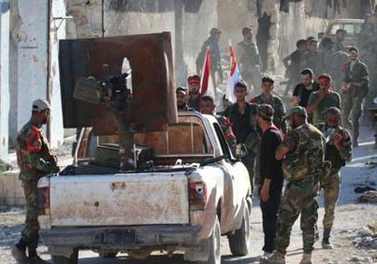 نیروهای اسد وارد شهر قدیمی حلب شدند