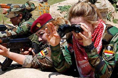 (تصاویر) آماده برای حمله به داعش