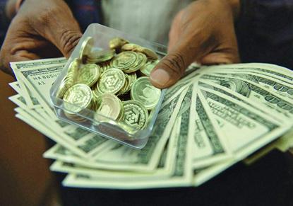 نرخ سکه و ارز در بازار