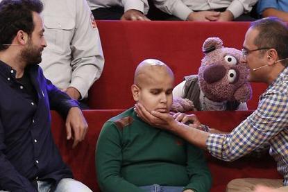 برآورده شدن آرزوی کودک مبتلا به سرطان در آخرین «خندوانه»