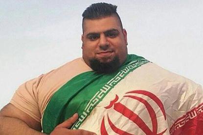 هالک ایرانی در مسابقات کشتی کج آمریکا