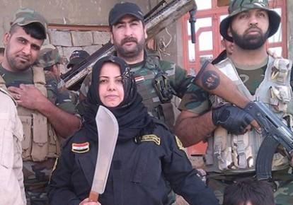 زن خانهدار عراقی که سر داعشیها را پُخت