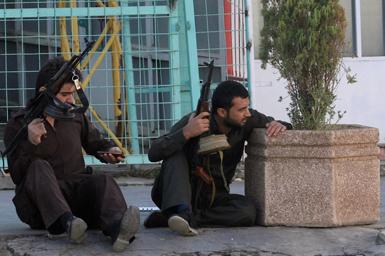 (تصاویر) نبرد خیابانی با داعش در کرکوک
