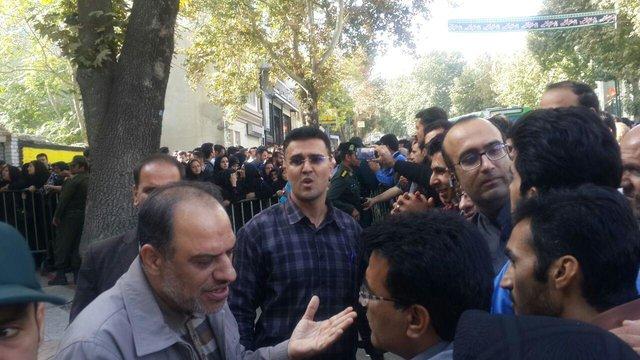 جنجال بازداشت یک متهم در کرمانشاه +(تصاویر)