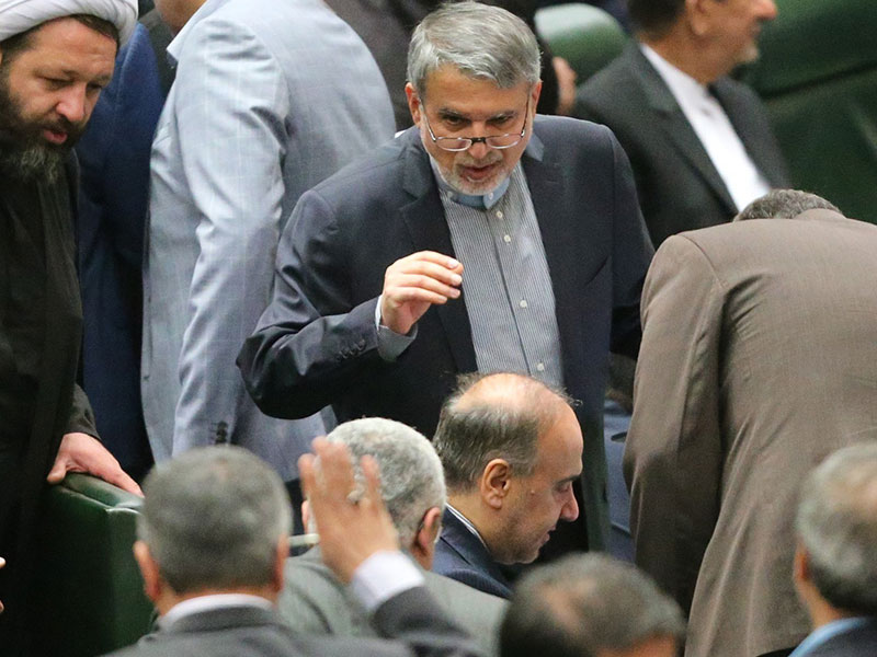(تصاویر) جلسه رأی اعتماد به وزرای پیشنهادی
