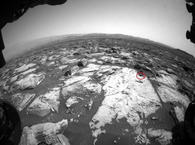 کشف یک شهاب سنگ عجیب روی مریخ +(تصاویر)