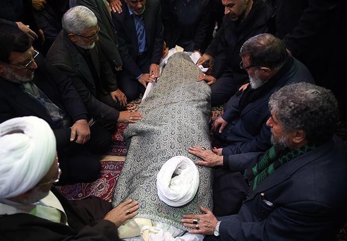 (تصاویر) مراسم تشییع حجتالاسلام شجونی
