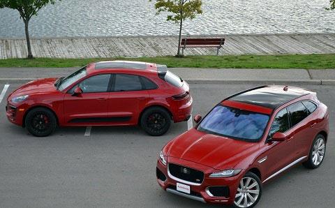 (تصاویر) رقابت جگوار S و پورشه ماکان GTS