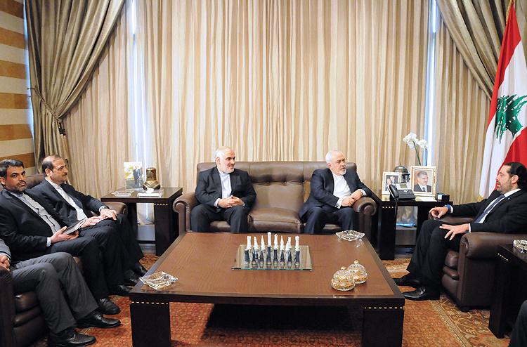 تصاویر/ دیدار ظریف با سعد حریری