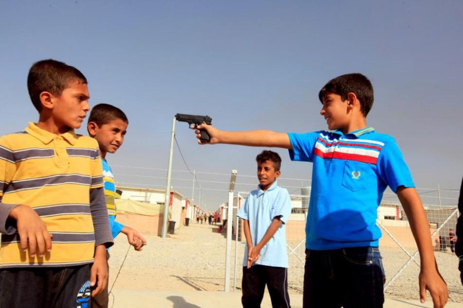 (تصاویر) مردمی که از دست داعش فرار کردند