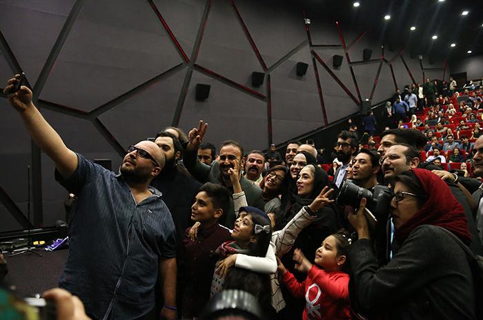 (تصاویر) بازیگران در اکران فیلم