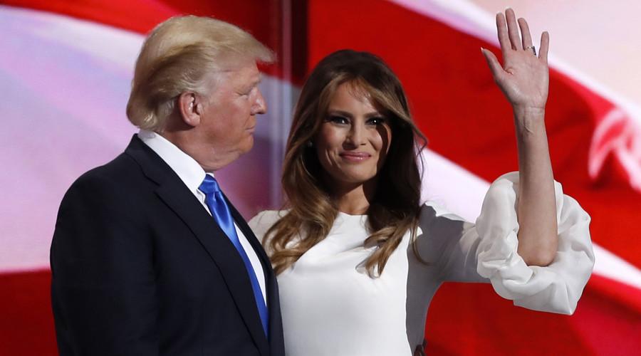 تحریم همسر ترامپ از سوی طراح لباس فرانسوی