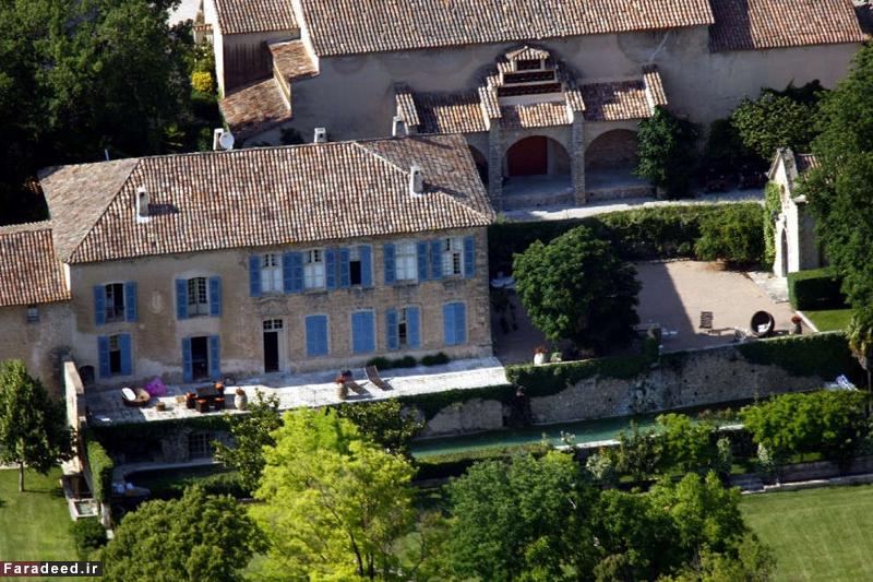 کاخ آنجلینا جولی و برد پیت در فرانسه به فروش گذاشته شد