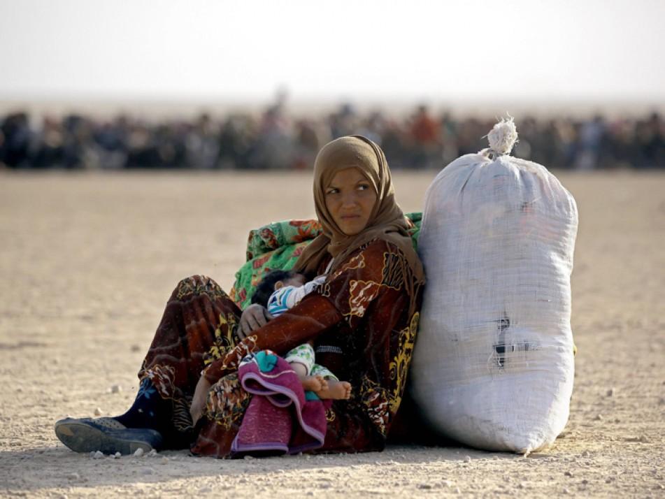 (تصاویر) زنانی که رنج داعش را کشیدهاند