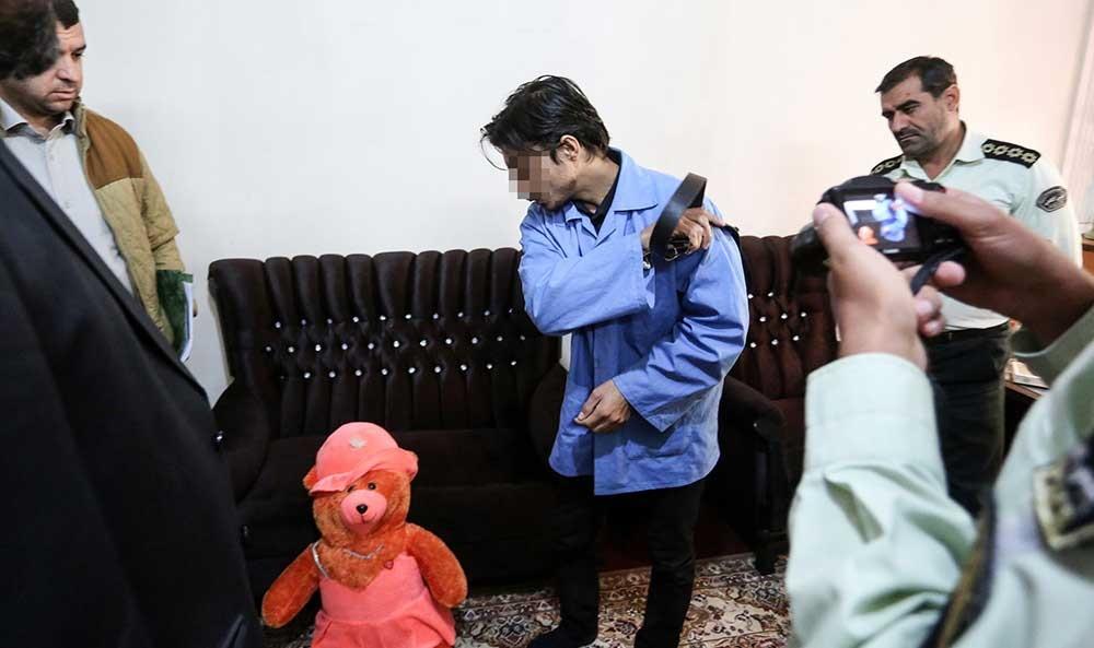 (تصاویر) بازسازی صحنه قتل طاهای ۶ ساله توسط پدر و نامادریاش
