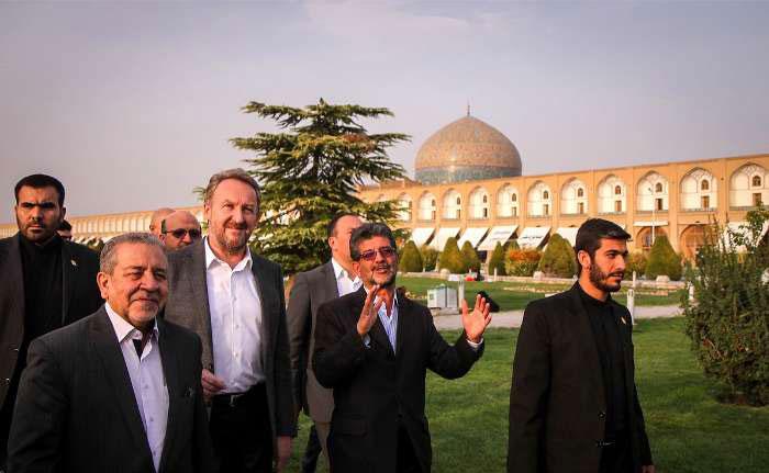 (تصاویر) سفر رئیس شورای ریاست جمهوری بوسنی به اصفهان