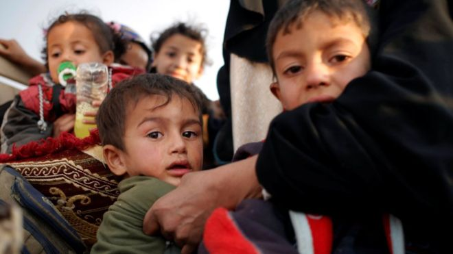 داعش از مردم موصل 'سپر انسانی ساخته است'