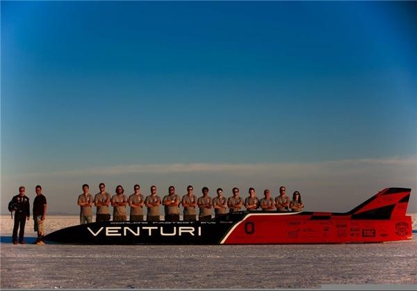 (تصاویر) سریعترین خودرو برقی جهان