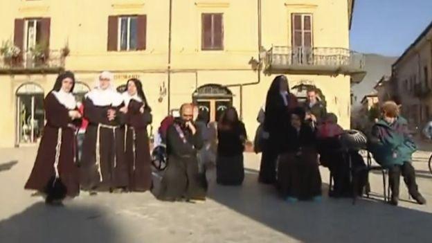 زلزله شدیدی مرکز ایتالیا را لرزاند