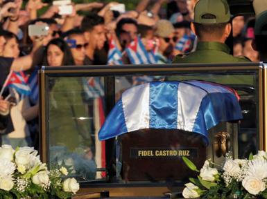 (تصاویر) وداع با خاکستر فیدل